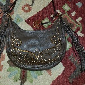 Michael Kors fringe shoulder bag